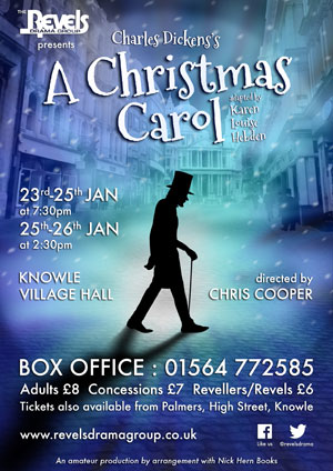 Box Office opens for 'A Christmas Carol' - The Revels Drama Group